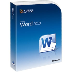 Microsoft Word 2010 - Complete Product - 1 PC