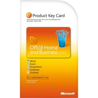 Microsoft Office 2010 Home and Business 32/64-bit - Product Key Code