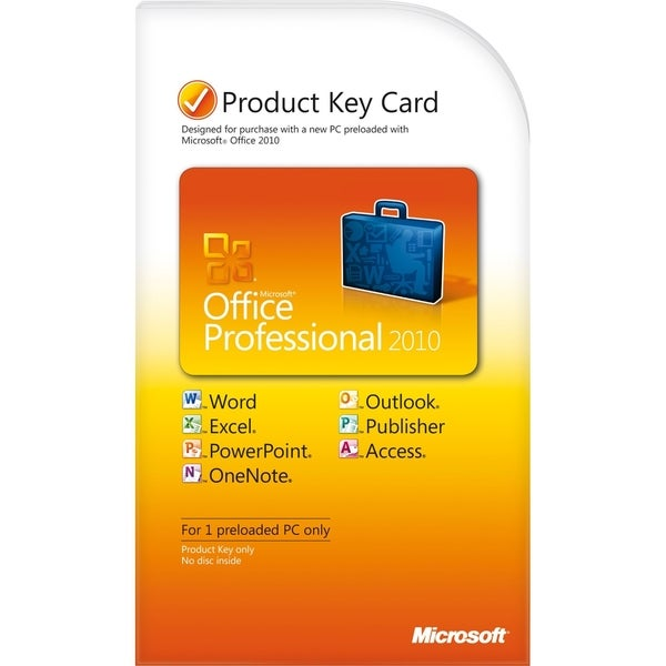 Microsoft Office 2010 Professional 32/64-bit