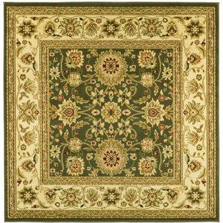 Safavieh Lyndhurst Traditional Oriental Sage/ Ivory Rug (8' Square)