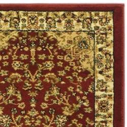 Safavieh Lyndhurst Traditional Oriental Red/ Ivory Runner (2' 3 x 12') - Thumbnail 1