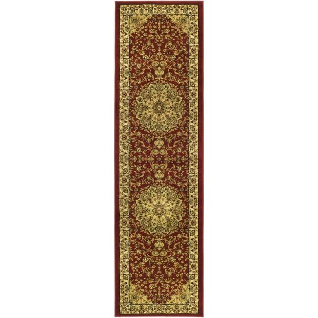 Safavieh Lyndhurst Traditional Oriental Red/ Ivory Runner Rug - 2' 3 x 14'