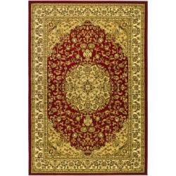Safavieh Lyndhurst Traditional Oriental Red/ Ivory Rug (6' x 9')