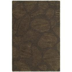 Safavieh Handmade Soho Pebbles Brown New Zealand Wool Rug (2' x 3')