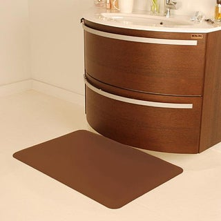 Wellnessmats Anti-fatigue Brown Kitchen Mats
