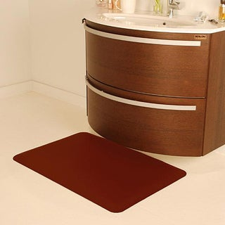 Wellnessmats Anti-fatigue Burgundy Kitchen Mat