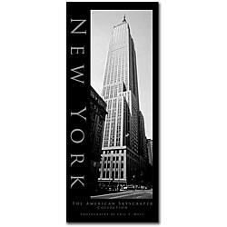 Preston 'New York' Medium Gallery-Wrapped Canvas Art