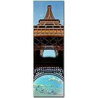 Preston 'Tour de Eifle I' Gallery-wrapped Canvas Art