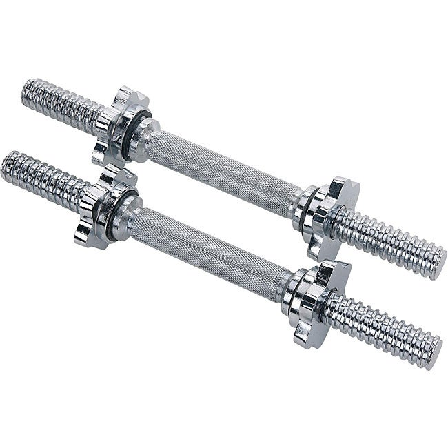 Sunny Health & Fitness STDBH-14 14-inch Threaded Dumbbell Bars