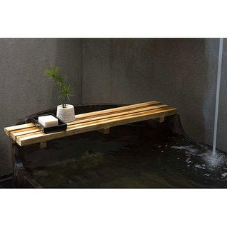 Handmade Farmed Teak Oil Finished Bath Bar (Thailand)
