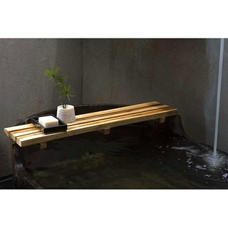 Handmade Farmed Teak Oil Finished Bath Bar (Thailand)