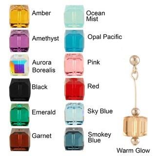 Sterling Silver 'Arctic Crystal' Earrings