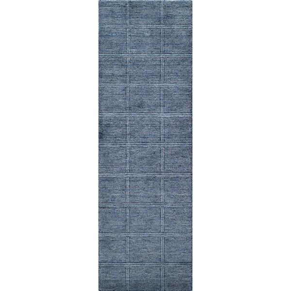 """Momeni Gramercy Hand-Loomed Wool Runner Rug - 2'6"""" x 8'"""