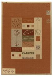Artist's Loom Indoor/Outdoor Contemporary Geometric Rug (8' x 11') - Thumbnail 2