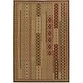 Artist's Loom Indoor/Outdoor Contemporary Abstract Rug - 5' x 8'