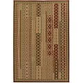 Artist's Loom Indoor/Outdoor Contemporary Abstract Rug - 8' x 11'