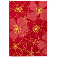 Artist's Loom Indoor Transitional Floral Rug - 8' x 11'