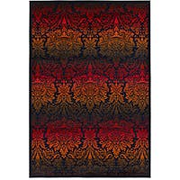Artist's Loom Indoor Contemporary Floral Rug (5' x 8') - 5' x 8'