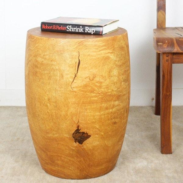 Mango Wood Tung Oil Finished Stool (Thailand)