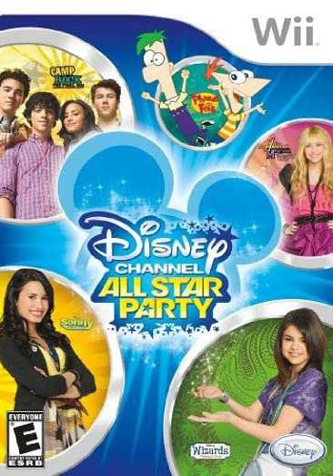 Wii - Disney Channel All Star Party - By Disney Interactive