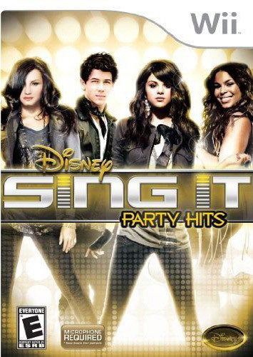 Wii - Disney Sing It: Party Hits - By Disney Interactive
