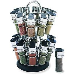 Olde Thompson 20-jar Flower Spice Rack Set