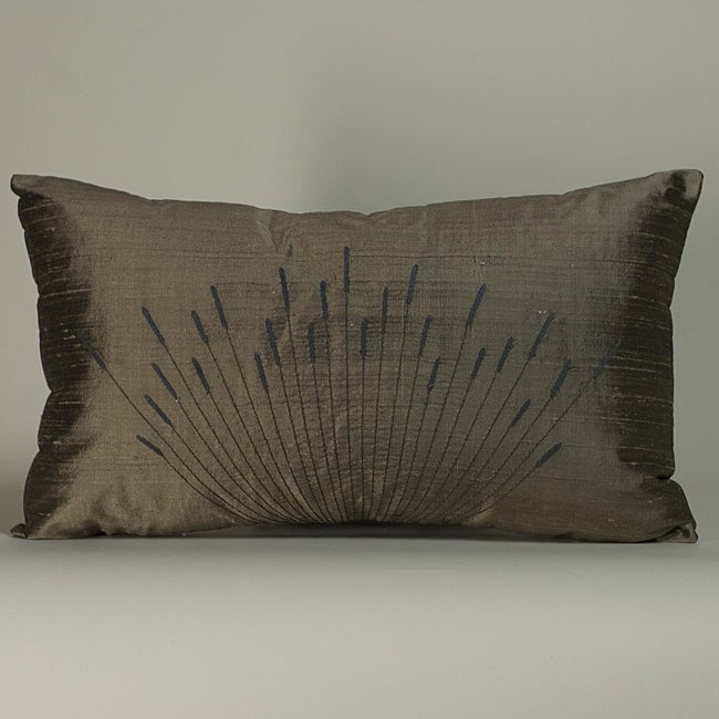 'Branches' Light Brown 12x20-inch Decorative Pillow