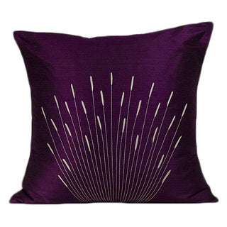 'Branches' Purple 20x20-inch Decorative Pillow
