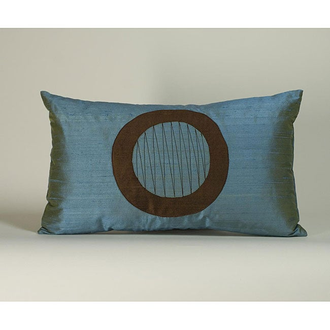 'Washer' Aqua 12x20-inch Decorative Pillow