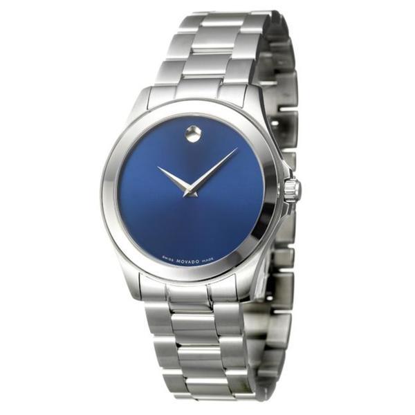 Movado Men's 0606116 'Junior Sport' Stainless Steel Quartz Watch