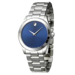 Movado Men's 0606116 'Junior Sport' Stainless Steel Quartz Watch