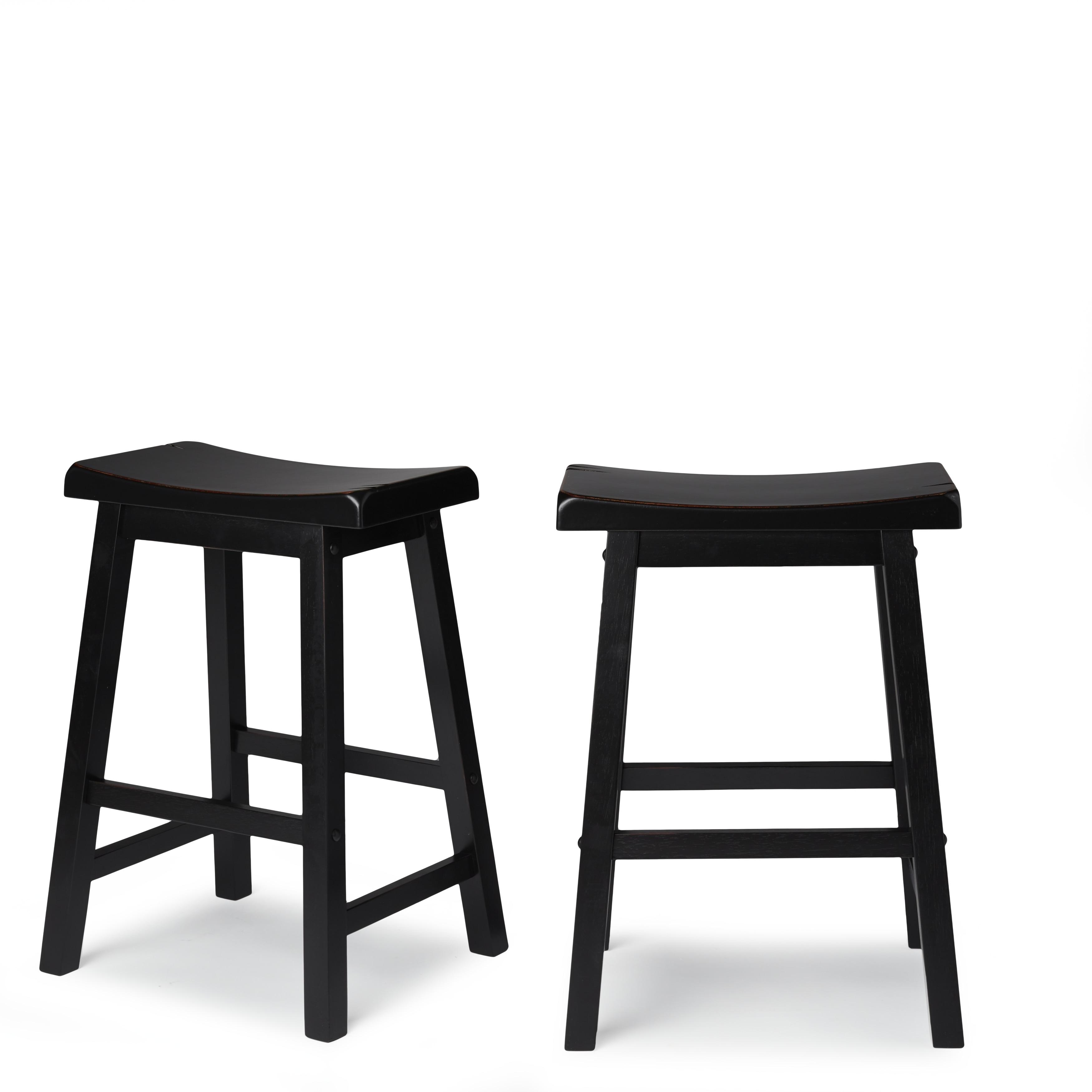 salvador saddle back 24 inch counter height backless stool set of 2 by inspire ebay. Black Bedroom Furniture Sets. Home Design Ideas