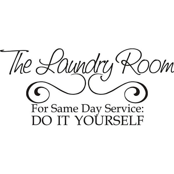 Design On Style Laundry Room Same Day Service Vinyl Wall Art Quote Free Shipping Orders Over 45 5109872