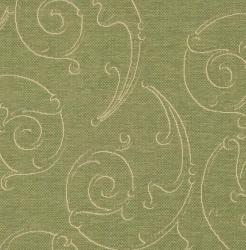 Safavieh Oasis Scrollwork Olive Green Natural Indoor