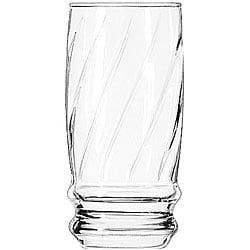 Libbey 16-oz Cascade Heat-treated Glasses (Case of 24)
