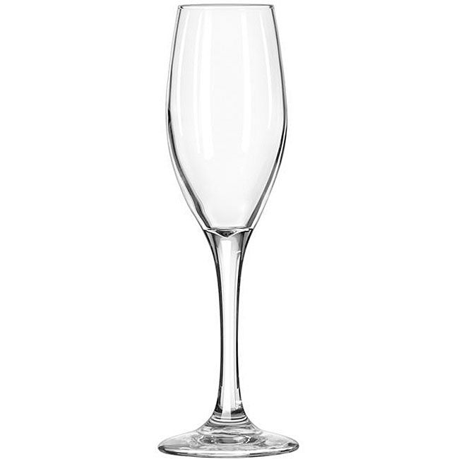 Libbey 6.5-oz Perception Champagne Flutes (Pack of 12)