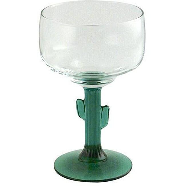 Libbey 12-oz Cactus Margarita Glasses (Pack of 12)