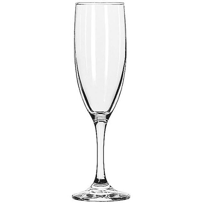 Embassy 6.5-oz Flute Glasses (Pack of 12)