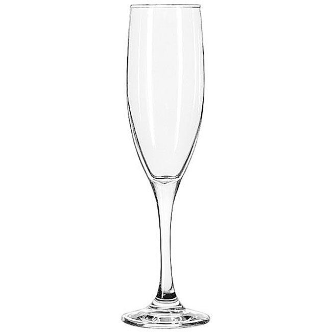 Libbey Tall Flute 6-oz Glasses (Pack of 12)