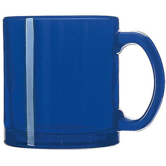 Libbey Cobalt Blue 13-oz Coffee Mug (Pack of 12)