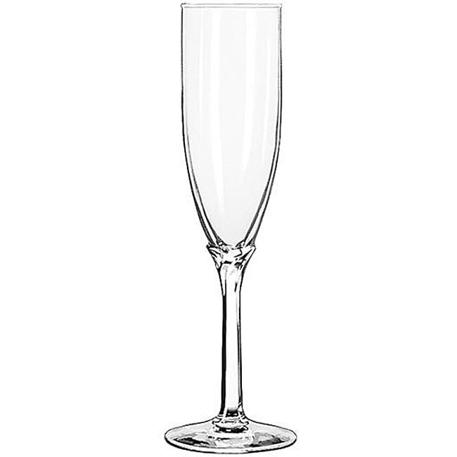 Libbey Domaine 6-oz Flute Glasses (Pack of 12)