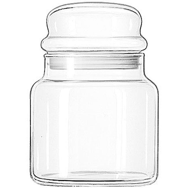 Libbey 22-oz Storage Jars (Pack of 12) - Thumbnail 0