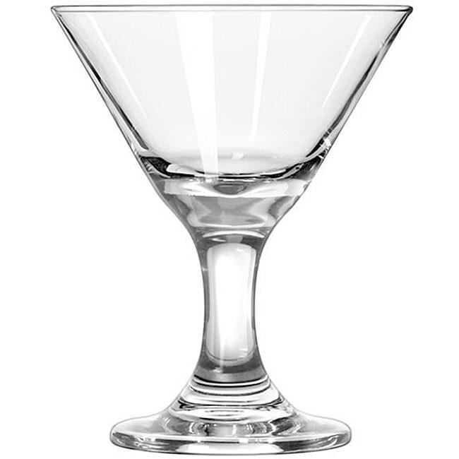 libbey embassy 3oz mini martini glasses pack of 12 - Stemless Martini Glasses