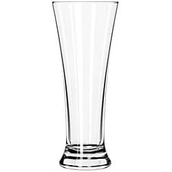 Libbey Flared 16-oz Pilsner Glasses (Pack of 12)