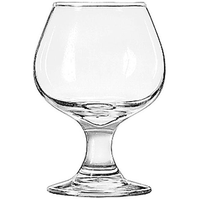 Libbey Embassy 5.5-oz Brandy Snifter Glasses (Pack of 12)