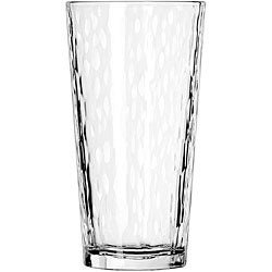Libbey Casual 20-ounce Cooler Hammered Glasses (Pack of 12)