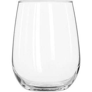 Libbey 17-ounce Stemless White Wine Glasses (Set of 12)
