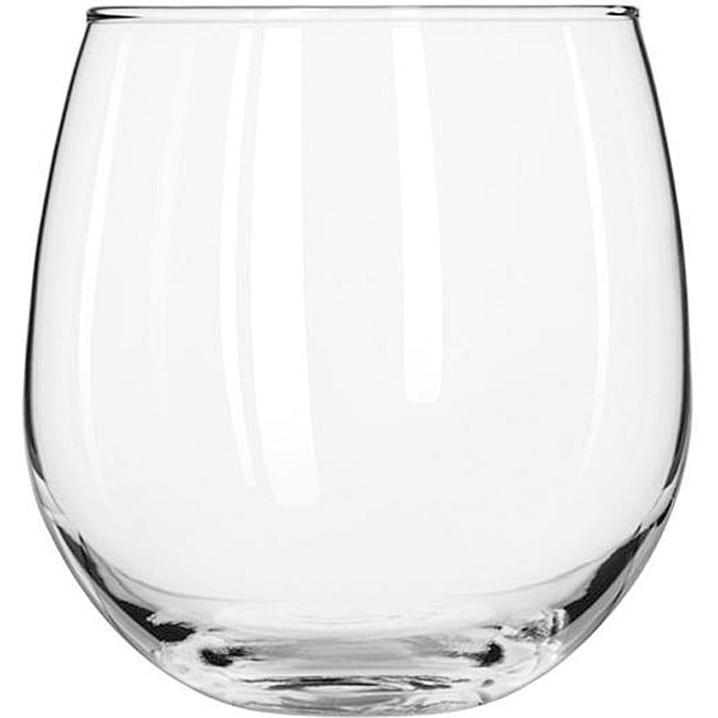 Shop Libbey Stemless 16.75-oz Red Wine Glasses (Pack Of 12