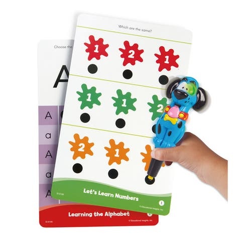Educational Insights Hot Dots Jr. Getting Ready for School! Set with Ace Pen
