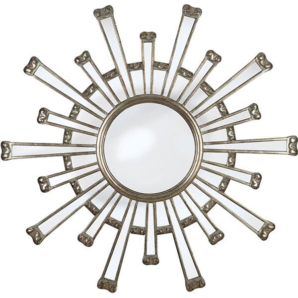 Adriano Antique Gold Finish Wall Mirror